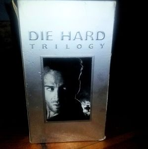 DIE HARD TRILOGY VHS EDITION